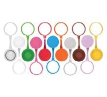 SCO-LP-(B-Y)-S Винтовые крышки с петлей и кольцевой прокладкой (для пробирок 0,5 мл, 1,5 мл, 2,0 мл, стерильные,11 цветов, Axygen, США, 500 шт./уп.)