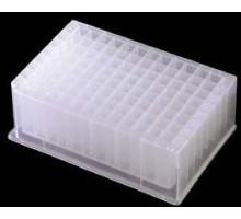 P-2ML-SQ-C Плашки ПЦР на 96 лунок, с квадратными лунками, 2 мл, 25 шт/уп